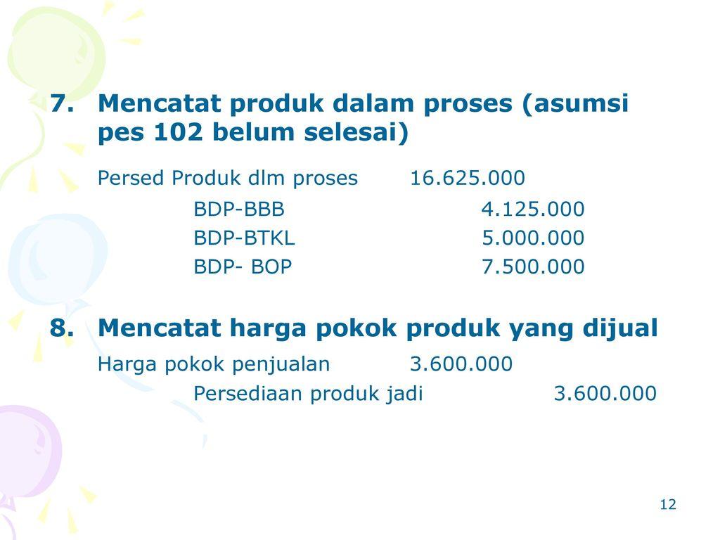 Persed Produk dlm proses 16.625.000
