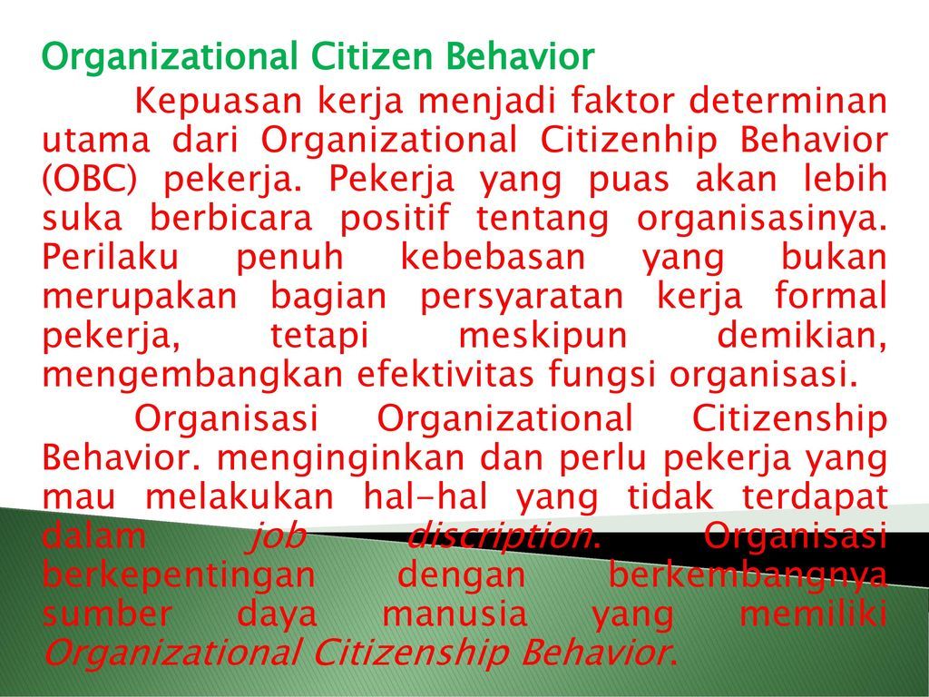 understanding organizational citizenship behaviors Government employees' organizational citizenship behavior: the impacts of public service motivation, organizational identification and citizenship behaviors.