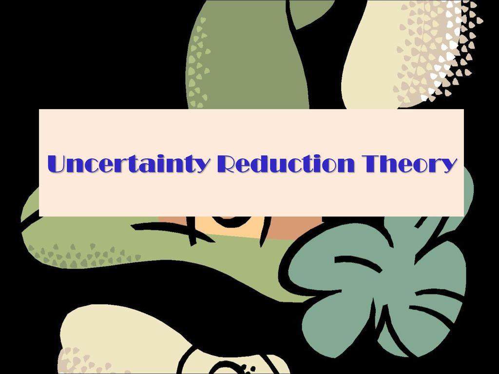 analysis of the uncertainty reduction theory