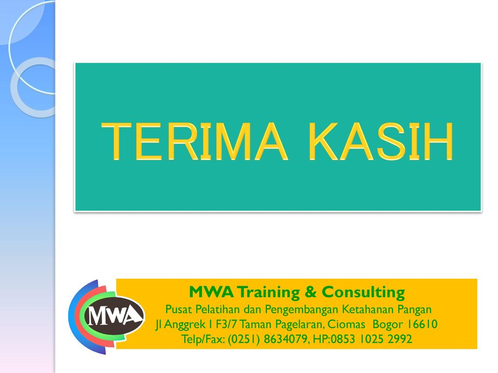 MWA Training & Consulting