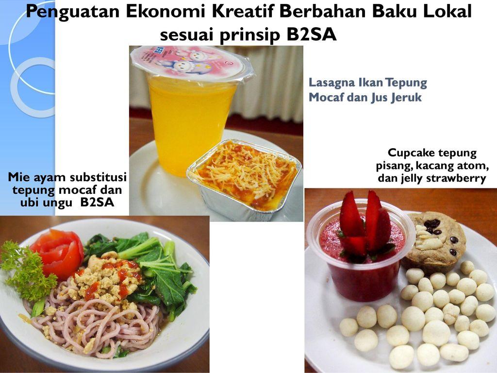 Lasagna Ikan Tepung Mocaf dan Jus Jeruk