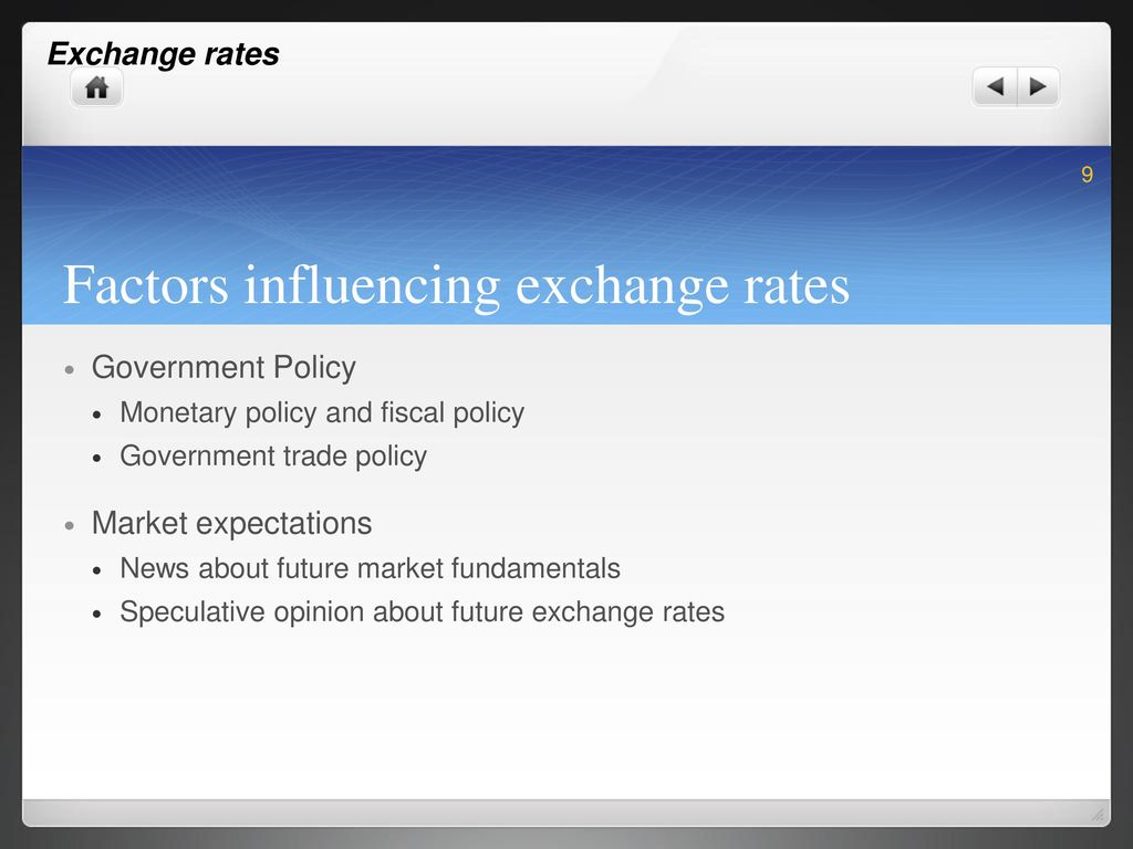 factors that influence exchange rates How to determine exchange rates through supply and demand how to determine exchange rates through supply and demand factors that affect demand and supply.