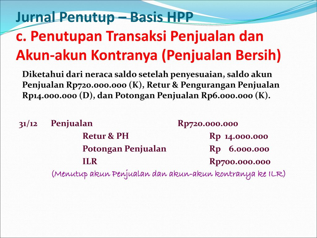 Jurnal Penutup – Basis HPP c