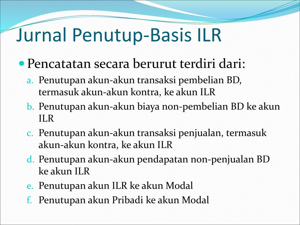 Jurnal Penutup-Basis ILR