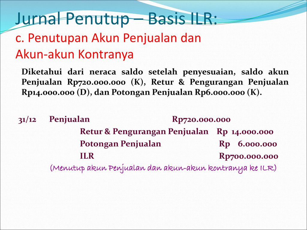 Jurnal Penutup – Basis ILR: c