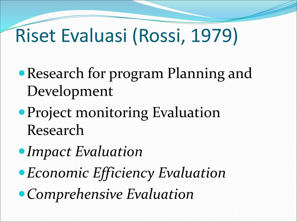 evaluation of impact and developments of Impact evaluation helps deliver development projects (english) abstract does research add value to aid specifically, does impact evaluation research help or hinder the delivery of development projects.