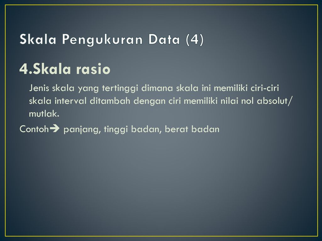 Skala Pengukuran Data (4)