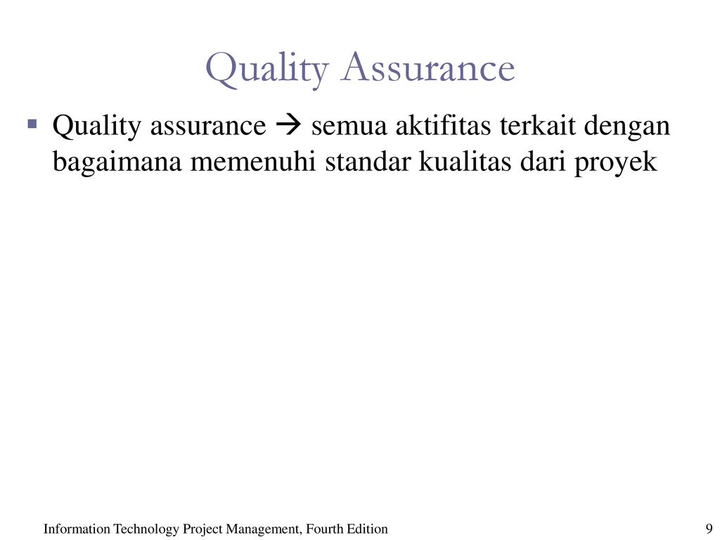information technology quality assurance Search careerbuilder for information technology quality assurance jobs and browse our platform apply now for jobs that are hiring near you.