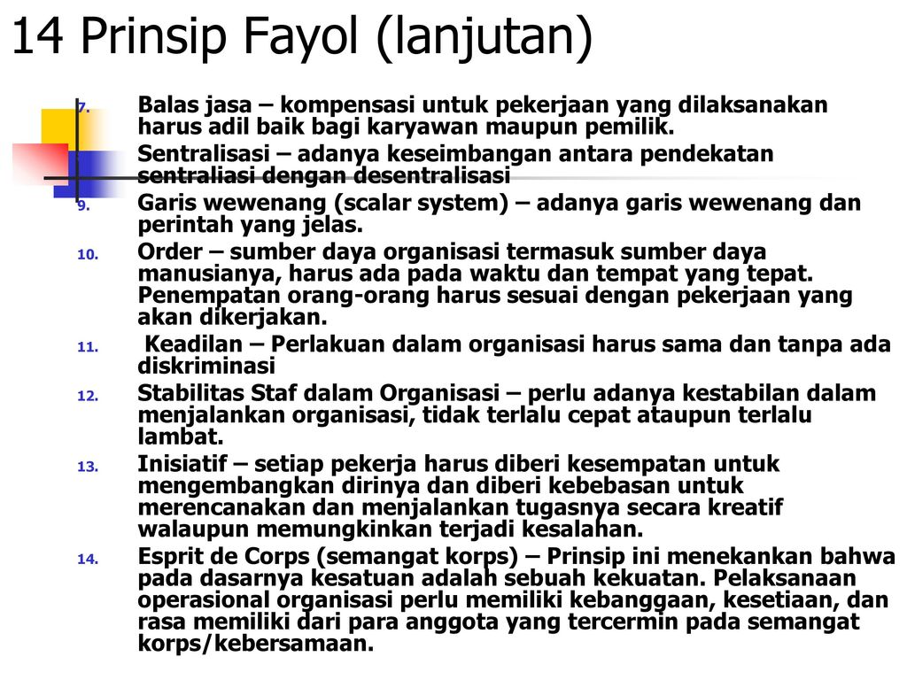 fayol esprit de corps The fayol's principles of management – discussed read this article to learn about fayol's principles of management principle of esprit de corps.