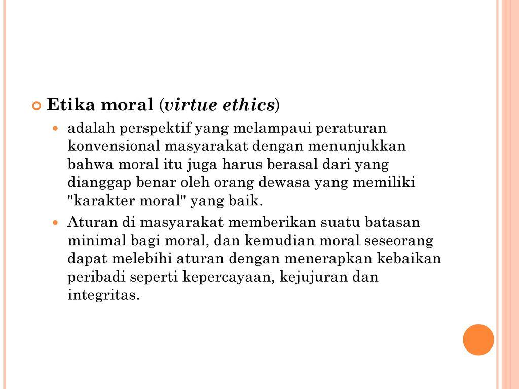 moral virtue
