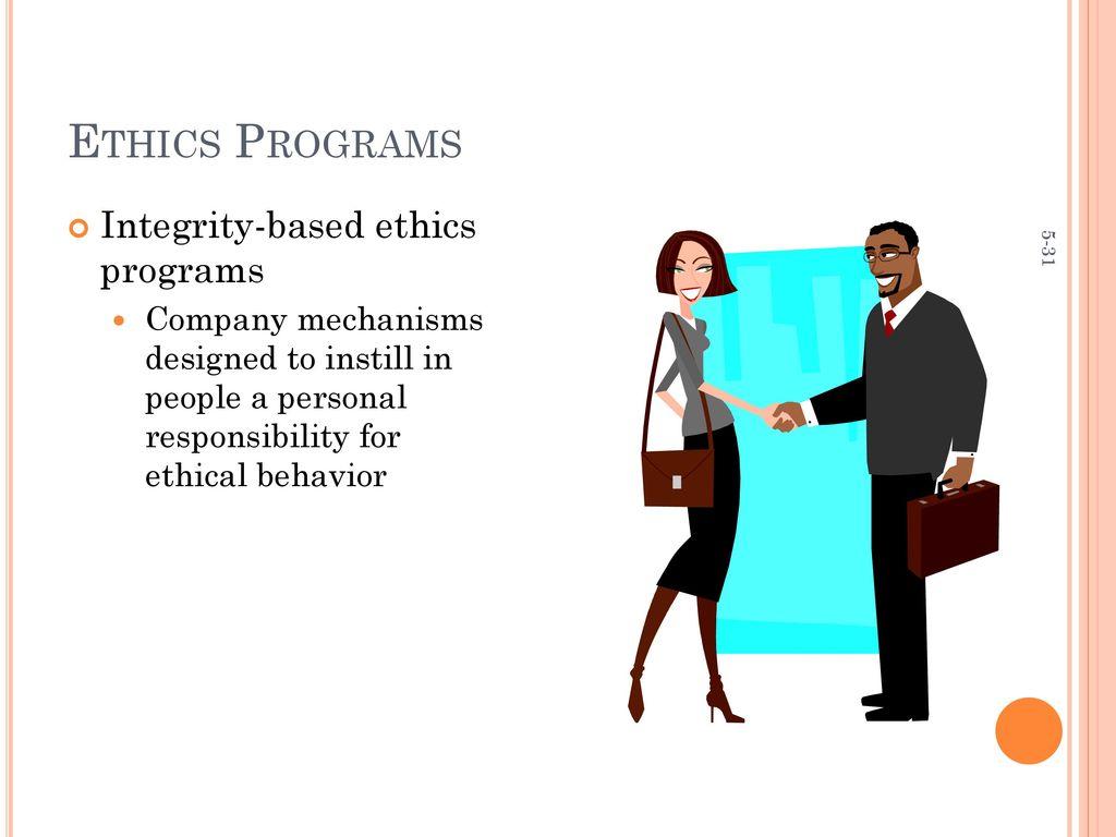 company x ethics program