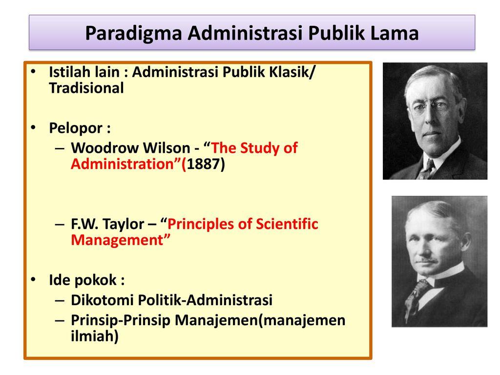 f w taylors principles of management