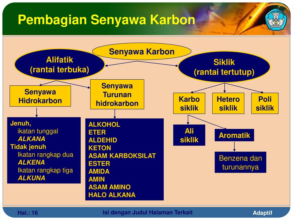 Pembagian Senyawa Karbon