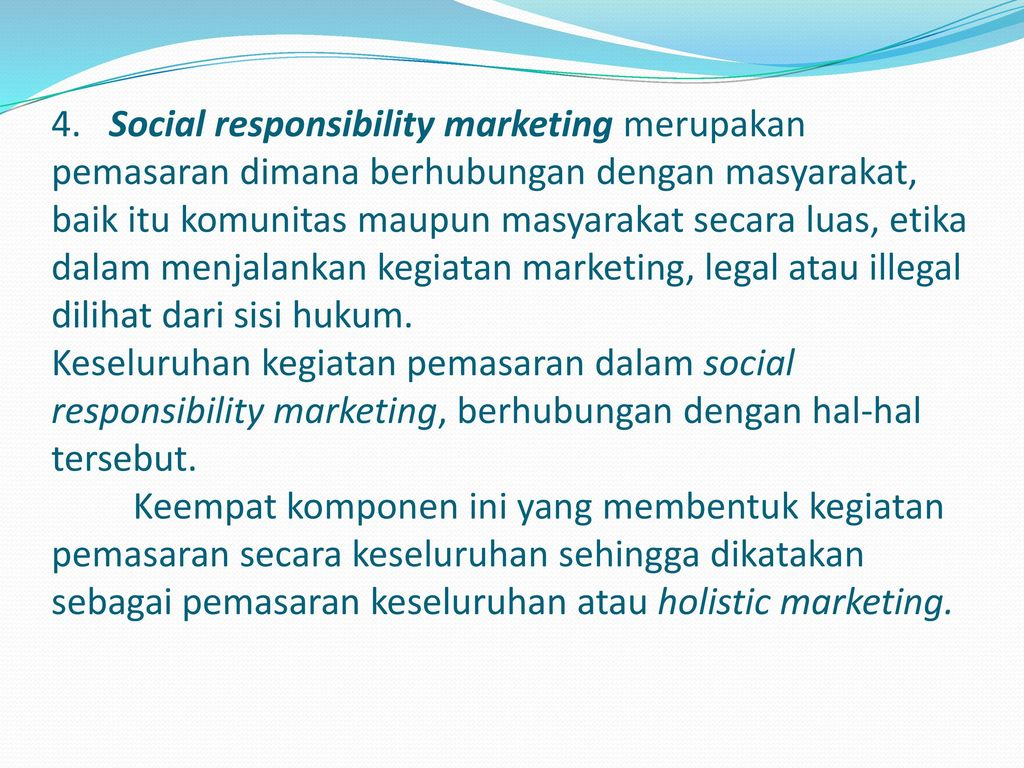 social responsibility in marketing Pr daily's corporate social responsibility awards 2018 agency and independent communication and marketing practitioners in the private, corporate.