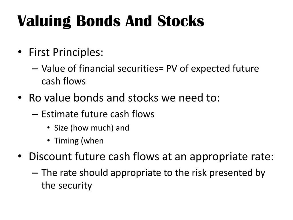 bond and stocks financing essay The role of bonds in america the bond market provides local  without bonds to finance these projects in a timely way.