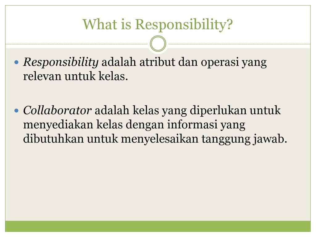 what is responsibility Responsibility activities (continued) role play (suggested for grades 3 - 5) materials: none divide the students into small groups and ask them to develop a skit about responsibility have each group present to the class be sure and discuss each skit after the students have finished and point out the responsible behavior mr.