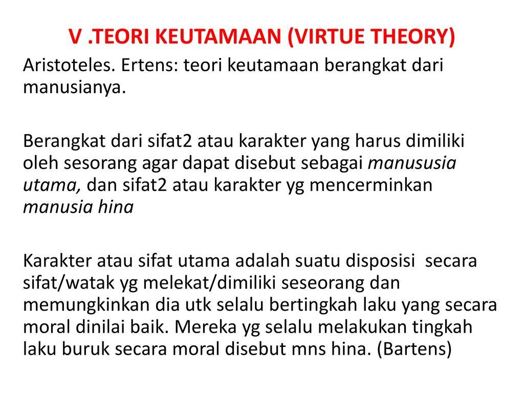 aristotles virtue theory