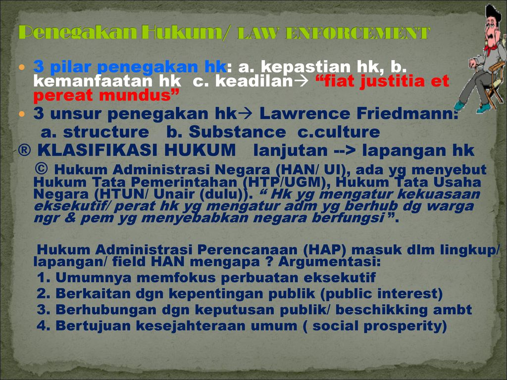 materi kuliah {aspek }hukum penataan ruang - ppt download