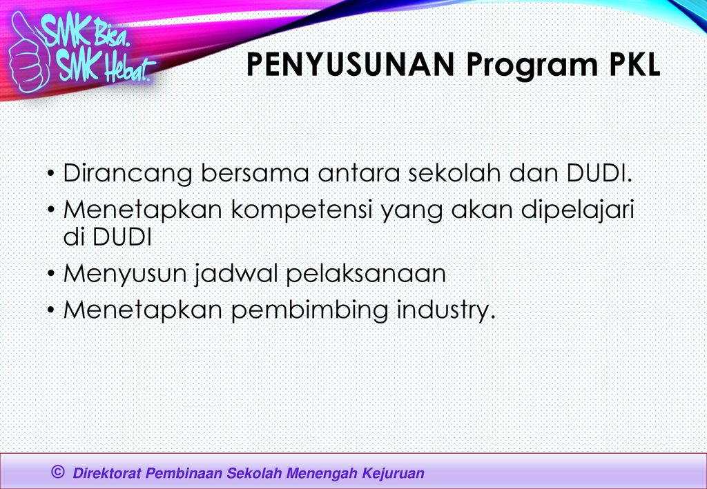 Penyusunan Program PKL