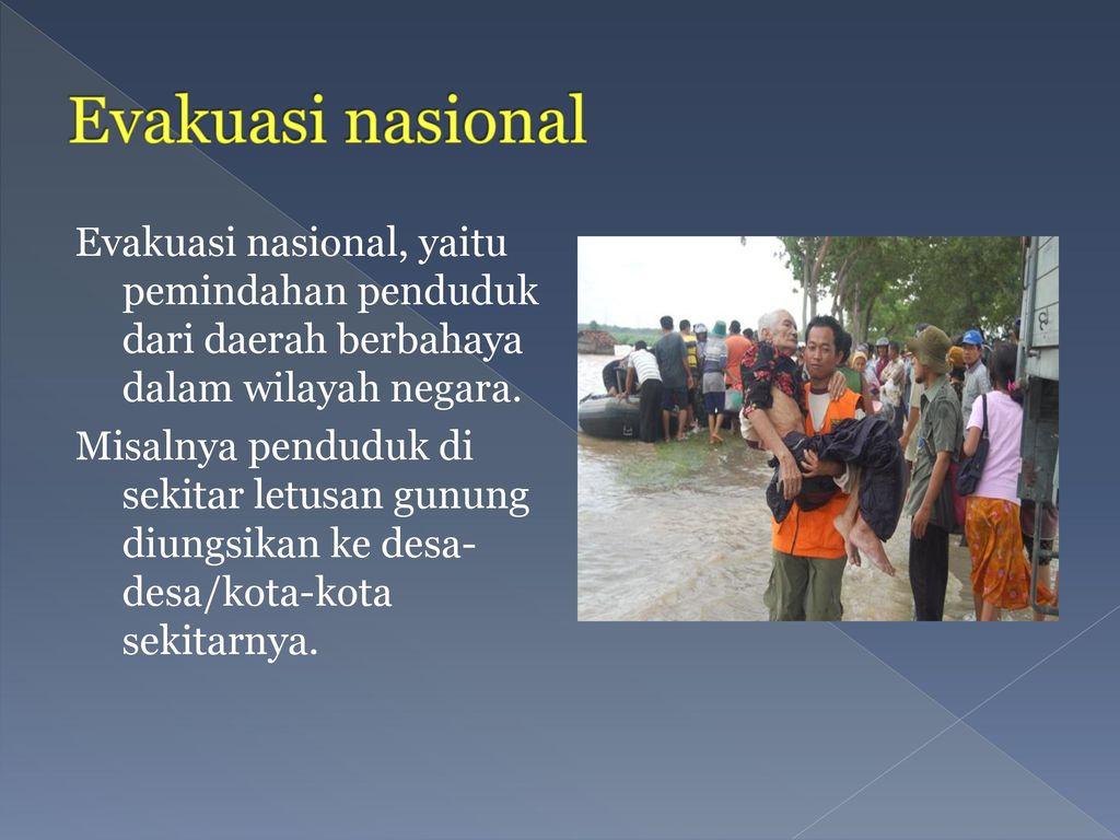 Evakuasi nasional