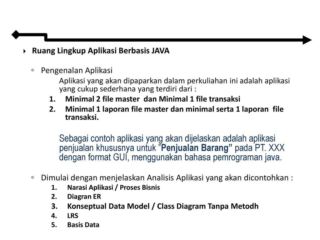 Pemrograman Berorientasi Objek Lanjutan - ppt download