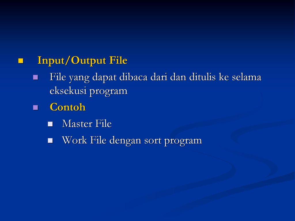 work file