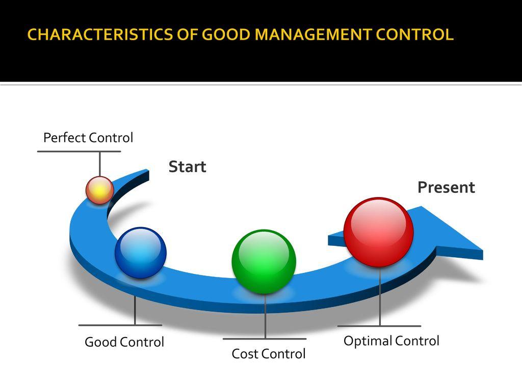 good management characteristics