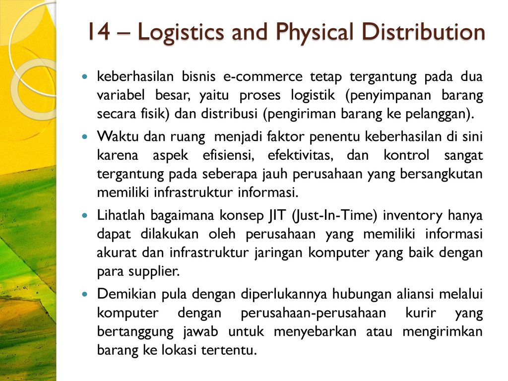 physical distribution and logistics of mcdonalds Physical distribution and logistics a company the size of mcdonald's requires the value chain to be increasingly important net/mcdonalds recently, mcdonald's, the.