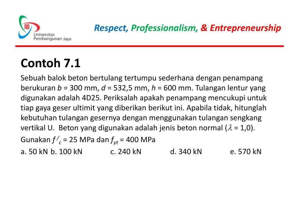 Contoh 7.1