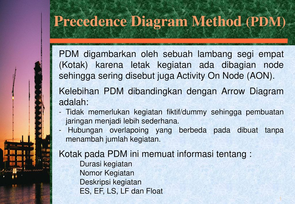 Precedence diagram method pdm ppt download precedence diagram method pdm ccuart Image collections