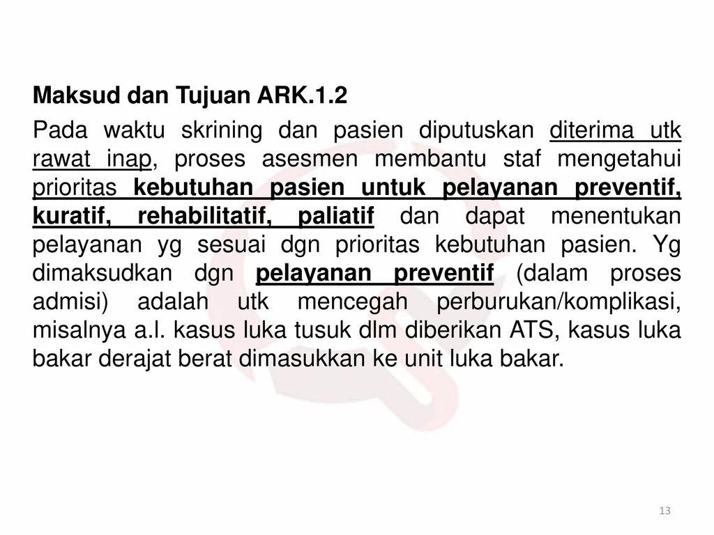 Maksud dan Tujuan ARK.1.2