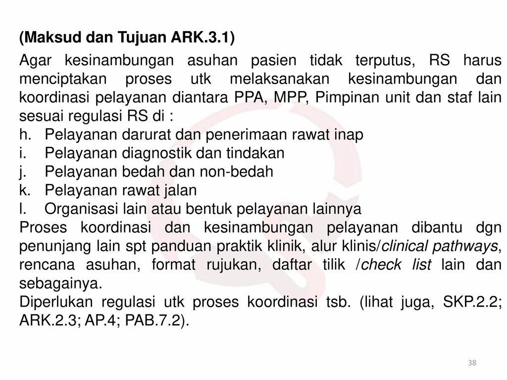 (Maksud dan Tujuan ARK.3.1)