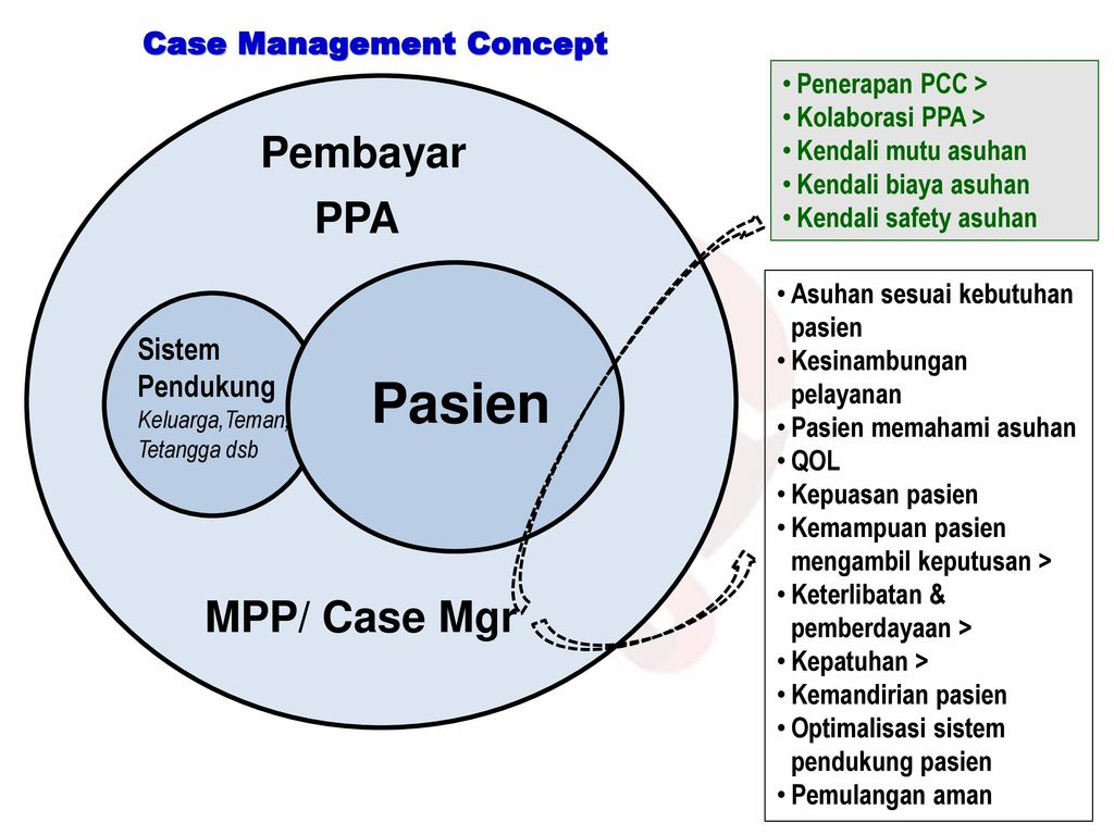 Case Management Concept