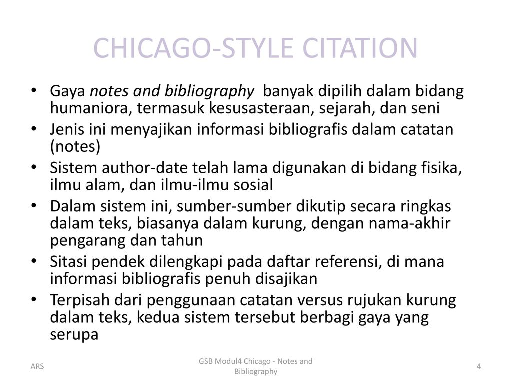 chicago style citations footnotes