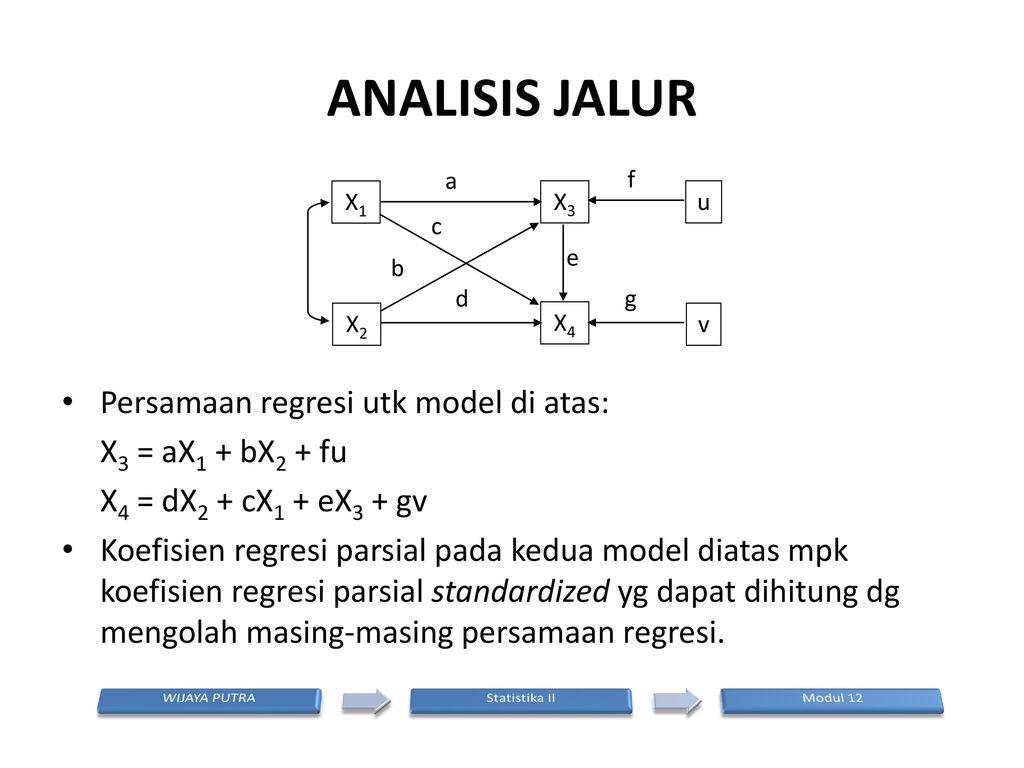 Analisis jalur modul 12 analisis jalur ppt download 19 analisis ccuart Choice Image