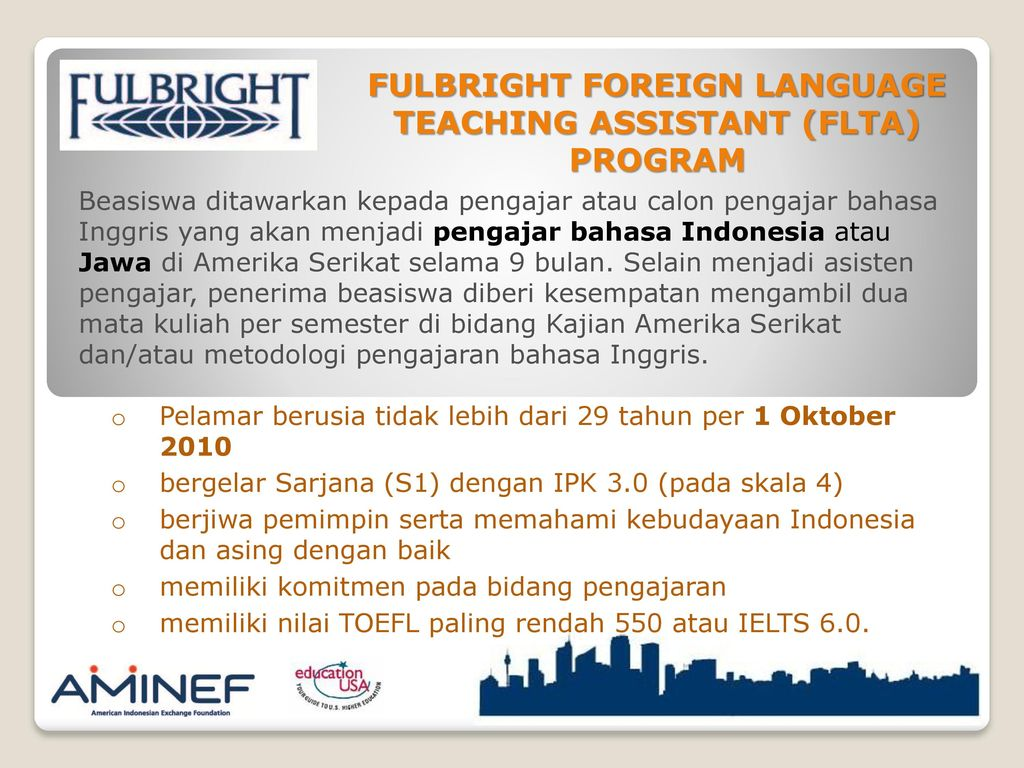 fulbright teaching assistant essay
