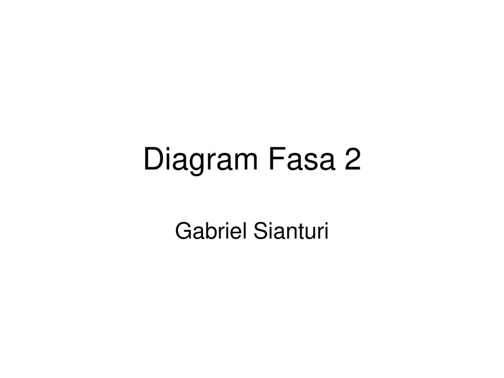 Diagram fasa 2 gabriel sianturi ppt download 1 diagram fasa 2 gabriel sianturi ccuart Gallery