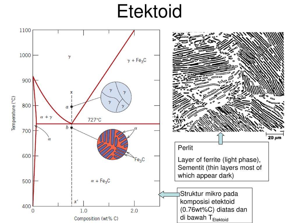 Diagram fasa 2 gabriel sianturi ppt download etektoid perlit layer of ferrite light phase sementit thin layers most ccuart Gallery