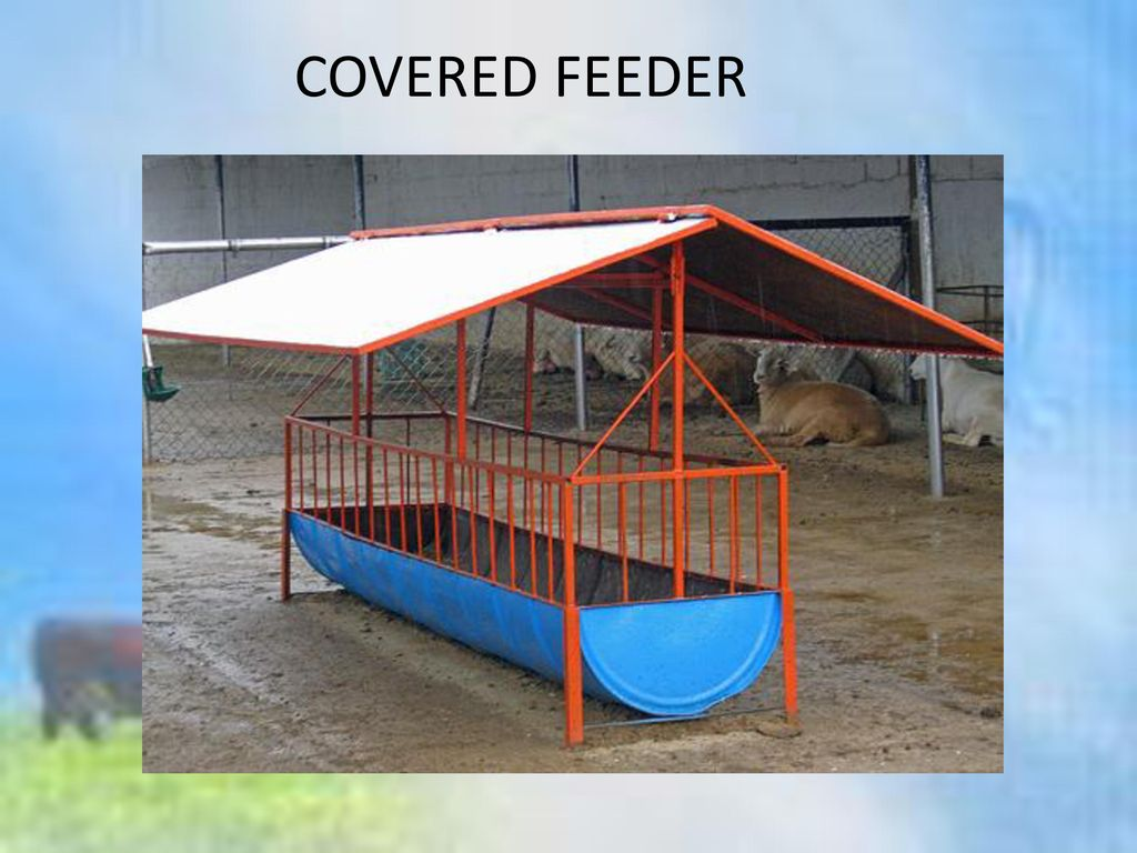 COVERED FEEDER