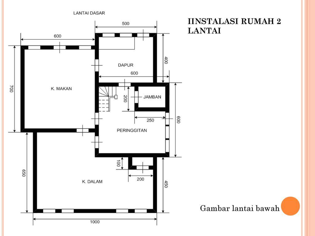 Instalasi rumah tinggal dan pengawatan ppt download iinstalasi rumah 2 lantai ccuart Images