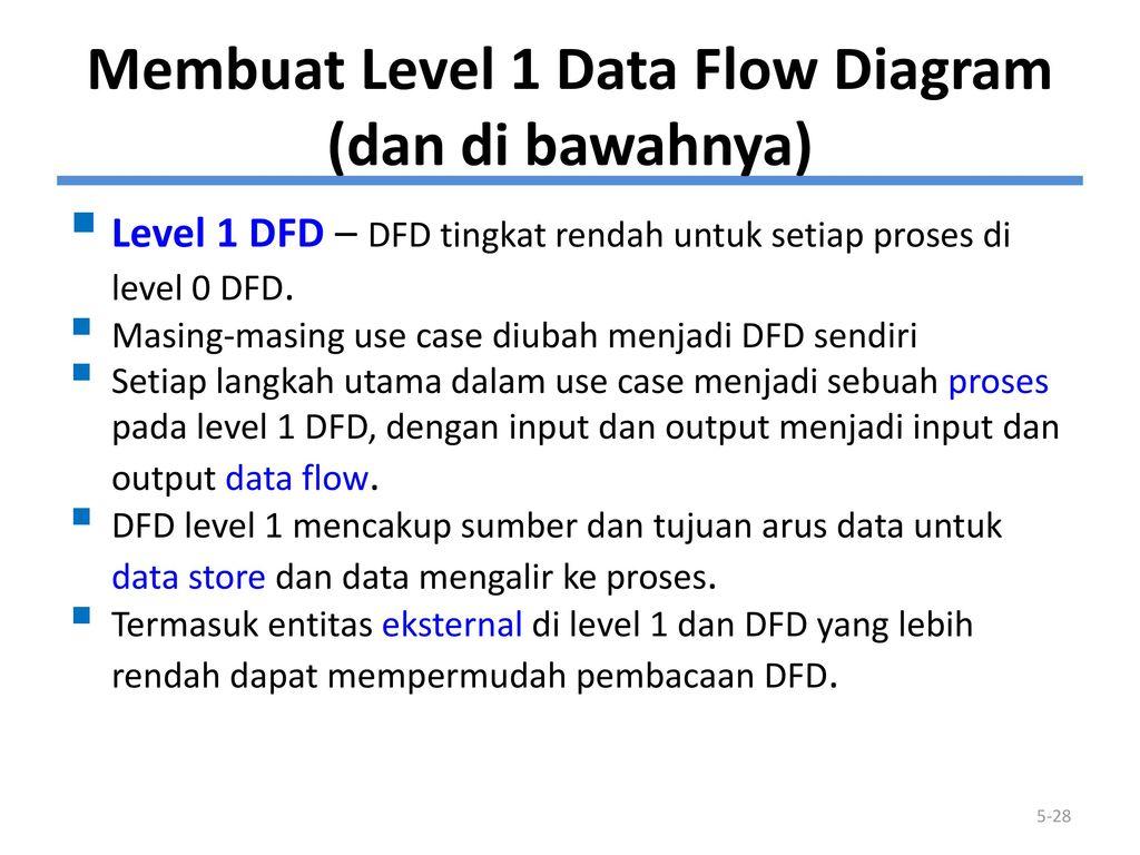 Membuat data flow diagram ppt download membuat level 1 data flow diagram dan di bawahnya 29 lanjt ccuart Image collections