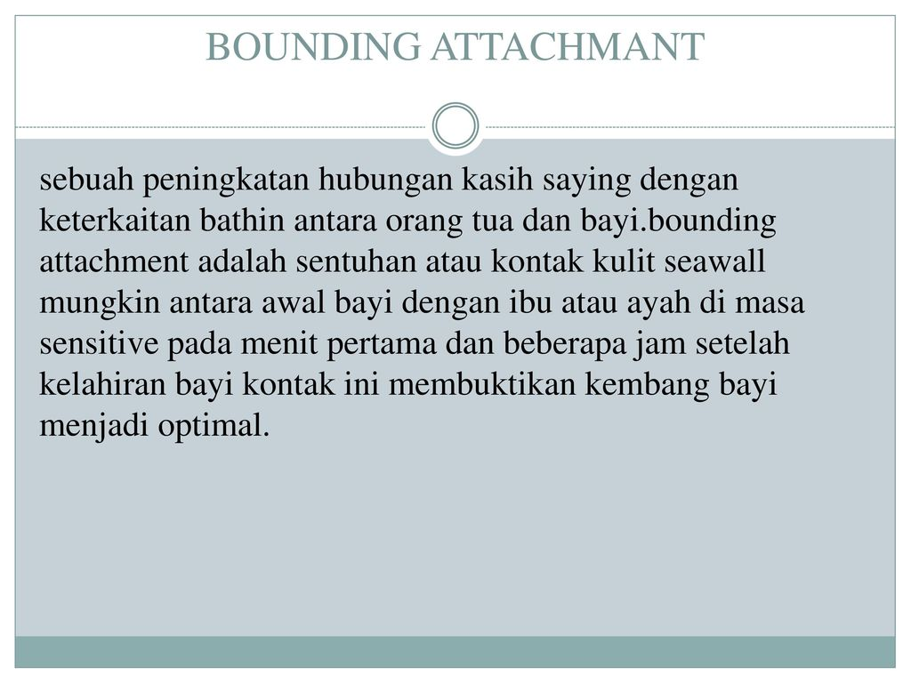 BOUNDING ATTACHMANT