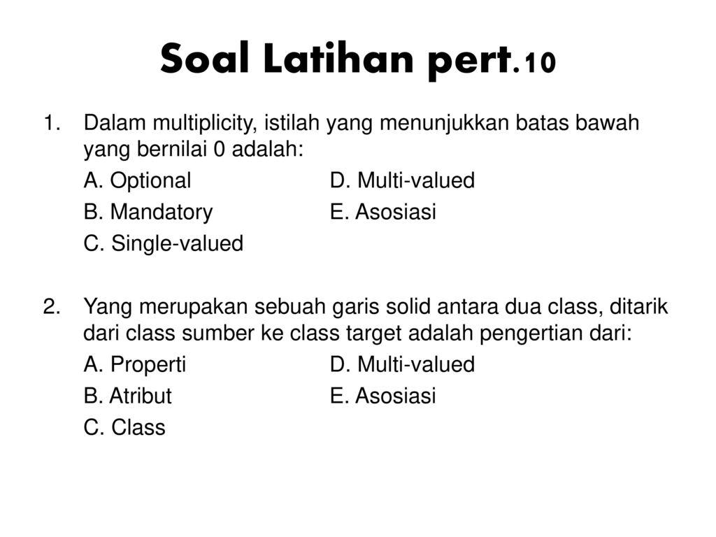 Soal latihan psbo ppt download 7 soal latihan pert10 ccuart Image collections