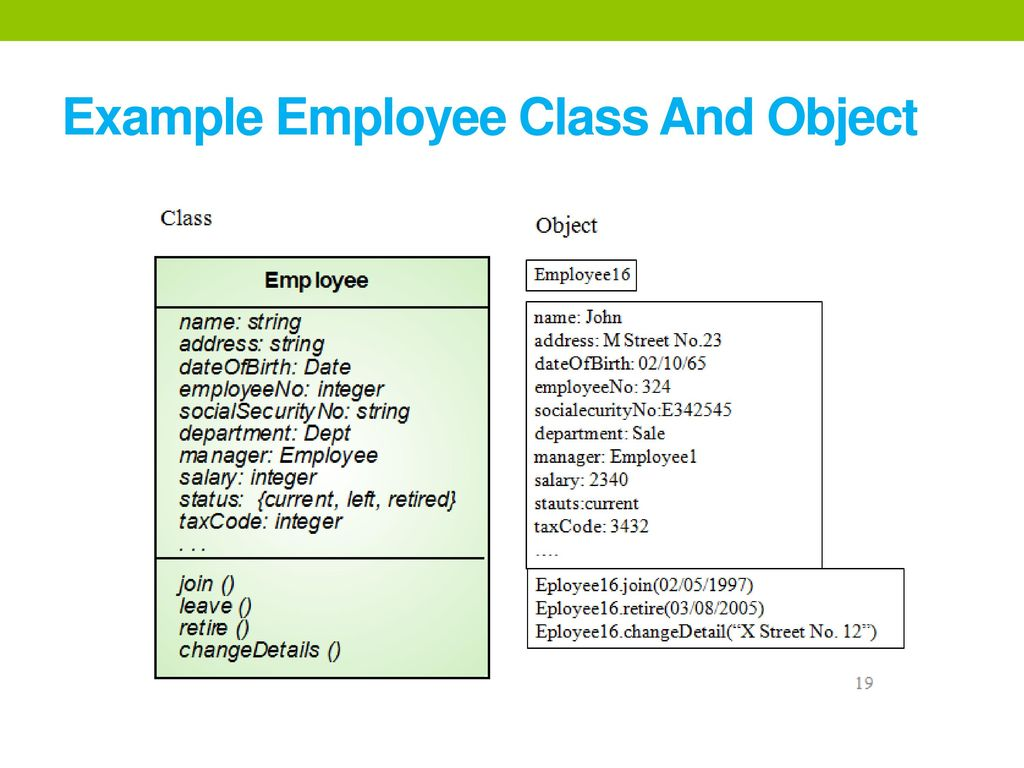 subroutine and employee class Pass arguments to constructor in vba this function has to instantiate your class, and call the initiation subroutine explained in point (1) [employee class.