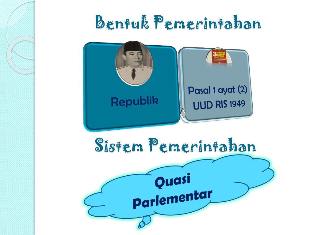 Bentuk Pemerintahan Sistem Pemerintahan Quasi Parlementar
