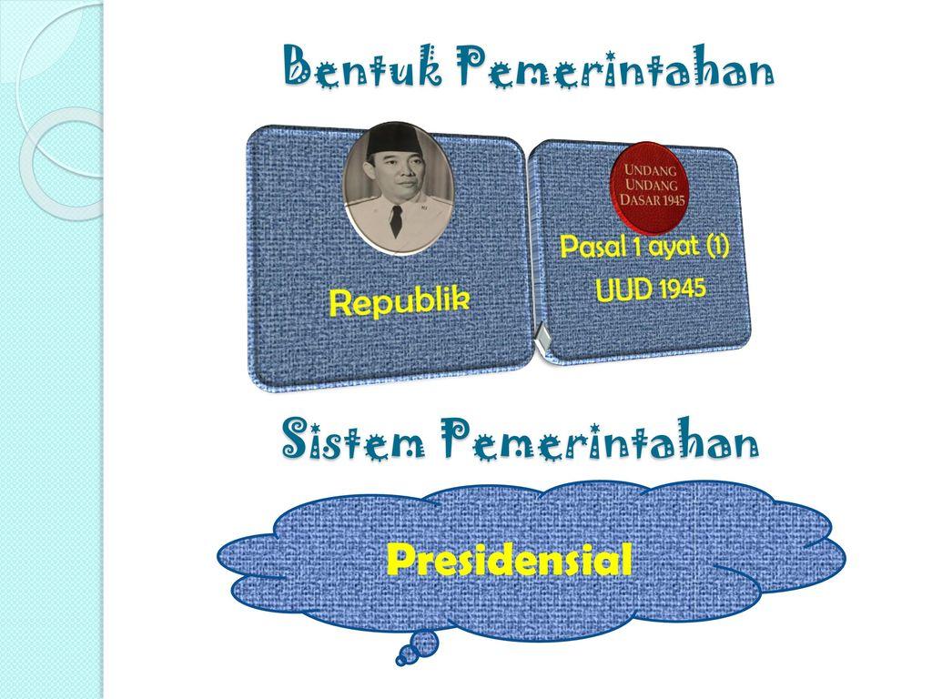 Bentuk Pemerintahan Sistem Pemerintahan Presidensial Republik