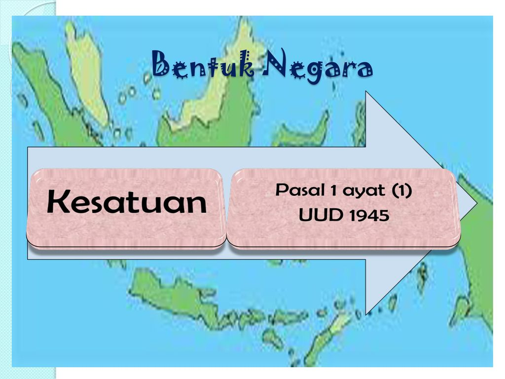 Bentuk Negara Kesatuan Pasal 1 ayat (1) UUD 1945