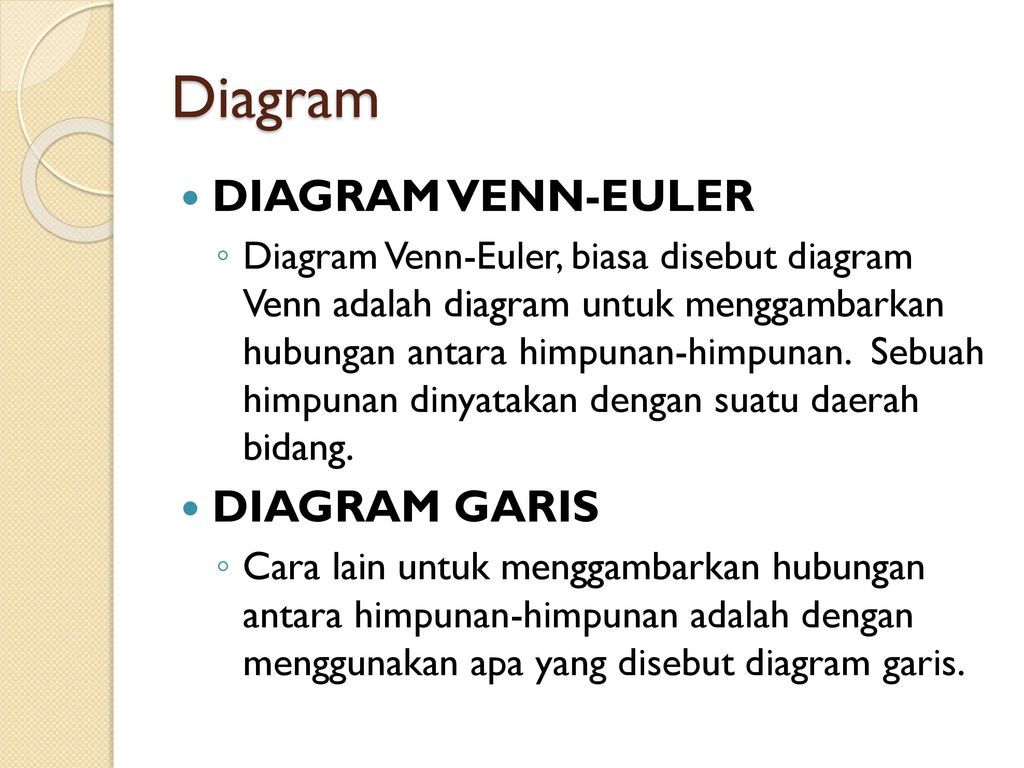 Pendahuluan himpunan dan sub himpunan ppt download 11 diagram diagram venn euler diagram garis ccuart Choice Image