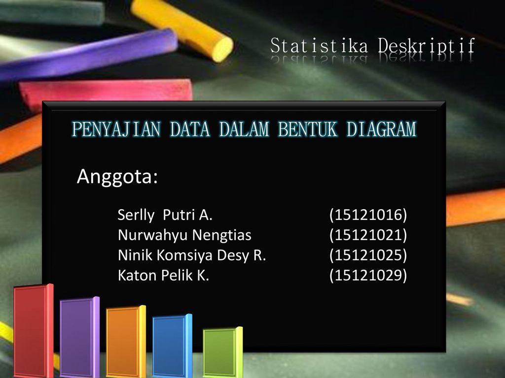 Anggota statistika deskriptif penyajian data dalam bentuk diagram anggota statistika deskriptif penyajian data dalam bentuk diagram ccuart Gallery