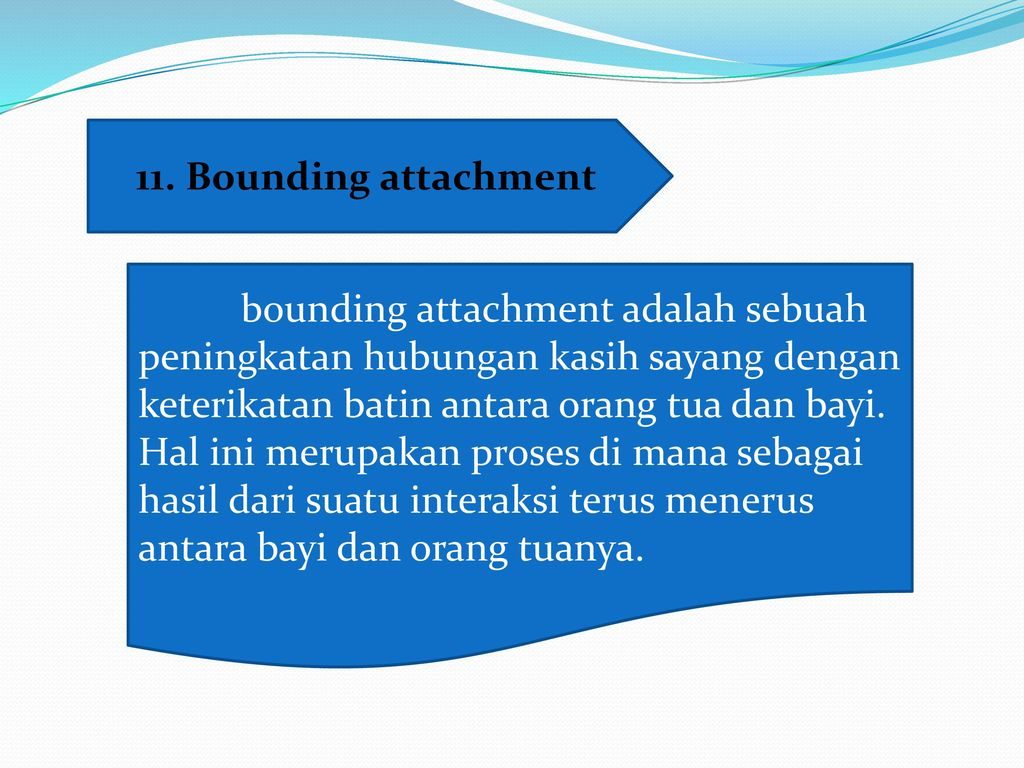 11. Bounding attachment